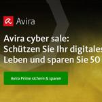 Black Friday bei Avira: Sicher dir jetzt 50% Rabatt auf Avira Prime!