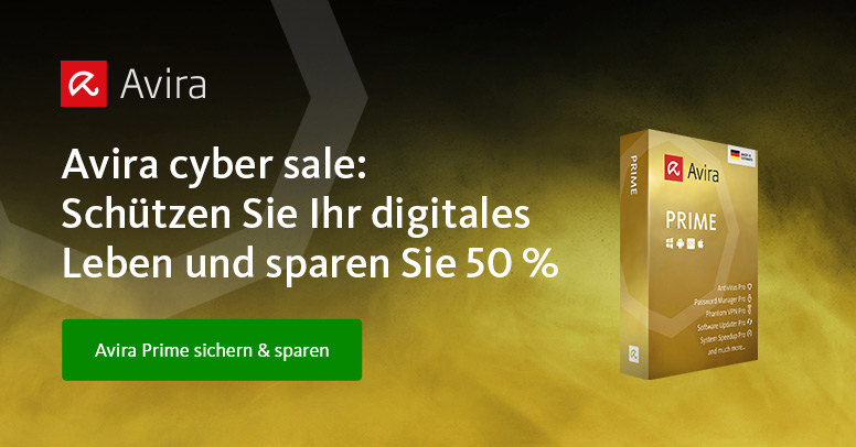 Avira Black Friday 2019