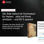 Sicher durchs Web mit Avira Prime – Jetzt 50% Rabatt auf die 1-Jahres-Lizenzen
