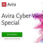 Spare mit dem Cyber Week Special von Avira 40% auf alle Bestseller!