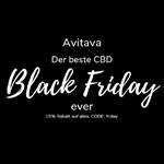 Avitava Black Friday mit 15% auf alle CBD & Hanf Produkte