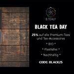 25% auf alle Premium Teesorten und Accesoires bei B.Tealy