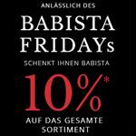 10% Rabatt auf die hochwertige Herrenmode von BABISTA am BABISTA Friday!