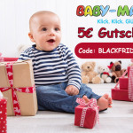 Jetzt einen Gutschein in Höhe von 5 Euro beim Einkauf auf Baby-Markt.de sichern!