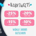 Black Friday Deals bei Baby Sweets – Jetzt Gutschein auswählen und bis zu 25% sparen