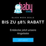 Black Week Deals bei babybrands.de mit bis zu 58% Rabatt