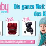 Spare bis zu 49% auf Transportsysteme für den Nachwuchs bei babybrands.de