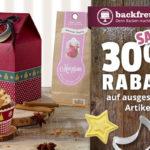 Backfreunde aufgepasst – Spare nur heute satte 30% auf ausgesuchte Artikel bei Backfreunde.de