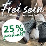 Entdecke deine neuen Lieblingsschuhe von BÄR und spare 25%