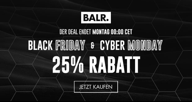 BALR. Black Friday 2018