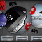 Black Friday 2013 bei PEARL: Satte Rabatte von bis zu 80% auf Tablet-PCs, Multimedia & Navis