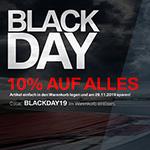 Nur heute Black Day bei Baum BMWShop24 mit 10% auf Alles!
