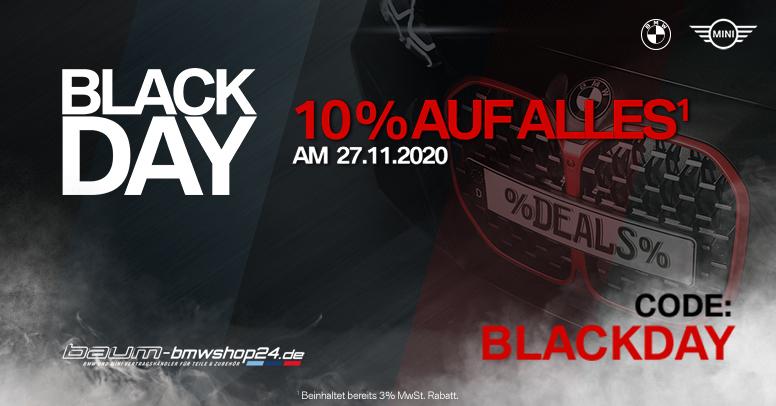 Baum BMWshop24 Black Friday 2020