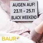 Jetzt bestellen und 20% sparen beim großen Black Weekend auf BAUR.de