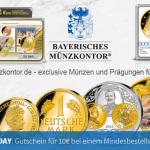 10 Euro Gutschein beim Bayerischen Münzkontor!