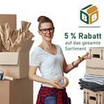 Spare jetzt 5% auf deine Bestellung im BB-Verpackungsshop