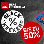 Bergfreunde.at macht es möglich: 3 Tage lang Top Deals mit bis zu 50% Rabatt