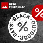 Black Outdoor Days bei Bergfreunde.at: Eine Woche lang wechselnde Aktionen mit tollen Rabatten