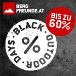 Spare bis zu 60% bei den Black Outdoor Days im Store von bergfreunde.at