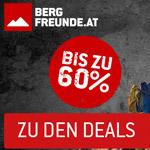 Black Weekend bei Bergfreunde.at – Spare drei Tage lang bis zu 60% auf Outdoor-Produkte
