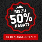 Bis zu 50 Prozent Rabatt bei den Black Weekend Deals von Bergfreunde.de!