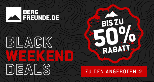 Bergfreunde Black Weekend 2017