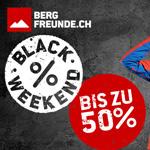Bergfreunde.ch macht es möglich: 3 Tage lang Top Deals mit bis zu 50% Rabatt