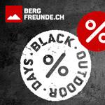 Black Outdoor Days bei Bergfreunde.ch: Eine Woche lang wechselnde Aktionen mit tollen Rabatten