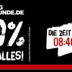 20% Black Friday Rabatt auf Alles im Online Shop von Bergfreunde.de.