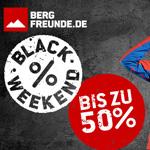 Bergfreunde.de macht es möglich: 3 Tage lang Top Deals mit bis zu 50% Rabatt