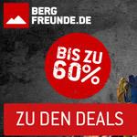 Black Weekend bei Bergfreunde.de – Spare drei Tage lang bis zu 60% auf Outdoor-Produkte