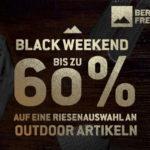 Sicher dir beim Black Weekend von Bergfreunde.de bis zu 60% Rabatt auf über 300 Top-Produkte