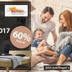 """Black Friday Supersale bei BETTEN.de: bis zu 60% Rabatt auf Betten & Wendematratze """"Finn"""""""