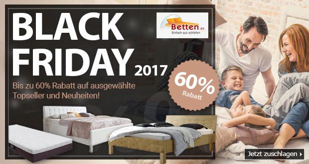 Betten.de Black Friday 2017
