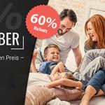 Black November bei BETTEN.de: bis zu 60% Rabatt auf die besten Betten