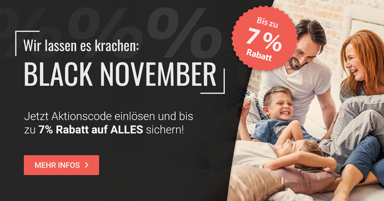 Betten.de Black Friday 2020
