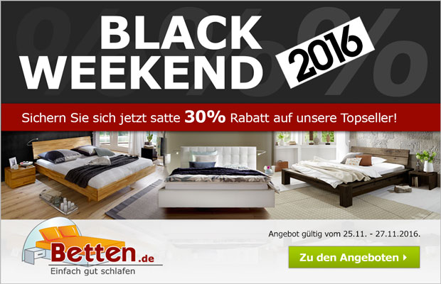 black friday betten jetzt angebot sichern 30 rabatt auf bettw sche im store von betten trend. Black Bedroom Furniture Sets. Home Design Ideas