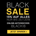 15% Rabatt beim Black Sale im BETTENRID Online-Shop