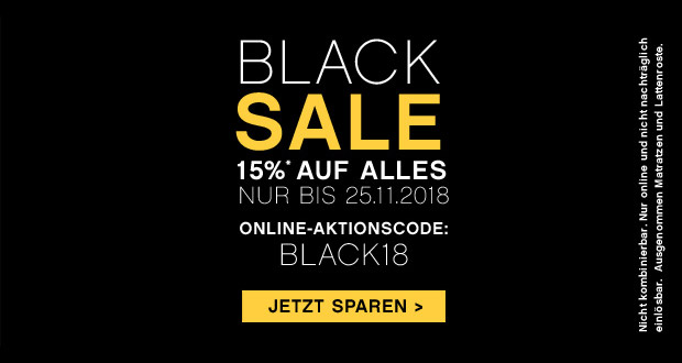 Bettenrid Black Friday 2018