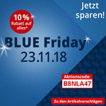 Blue Friday bei Bettmer – 10% Rabatt auf alles