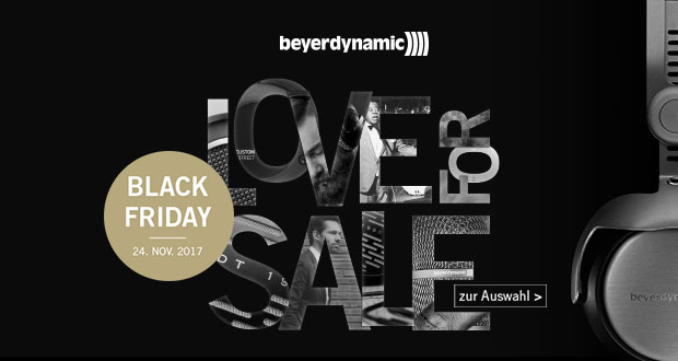 Beyerdynamic Black Friday 2017