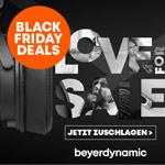 Spare bis zu 72% mit den Black Friday Deals von beyerdynamic