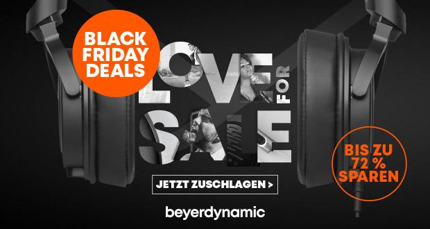 spare bis zu 72 mit den black friday deals von beyerdynamic black. Black Bedroom Furniture Sets. Home Design Ideas