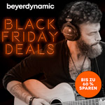Spare bis zu 60% mit den Black Friday Deals bei beyerdynamic