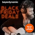 Spare jetzt bis zu 60% mit den Black Friday Deals bei beyerdynamic