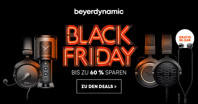 beyerdynamic Black Friday 2020