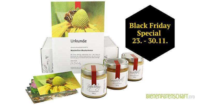 Bienenpatenschaft Black Friday 2020