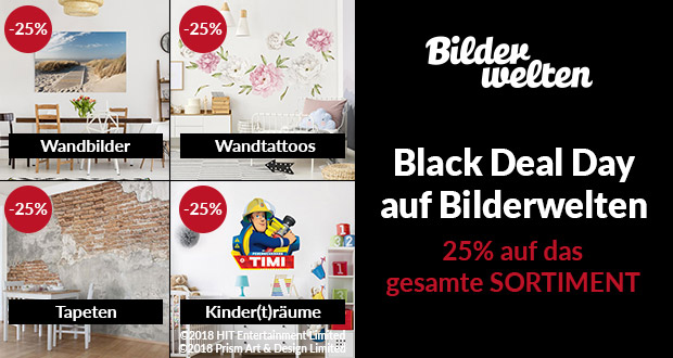 Bilderwelten.de Black Friday 2018