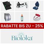 Erhalte bis zu 25% Rabatt auf zahlreiche Produkte zur Rückengesundheit von Bioloka