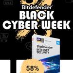 Bitdefender Black Cyber Week – Bis zu 63% Rabatt auf ausgewählte Produkte